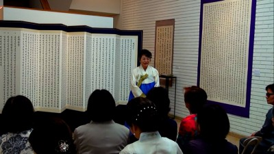 ヒョンウォン先生スピーチ