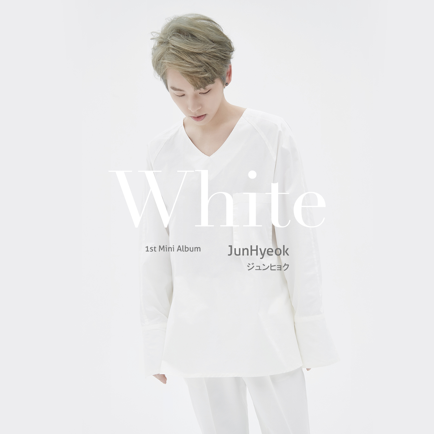 JunHyeok 1st Mini Album 「White」 5/31 発売決定‼