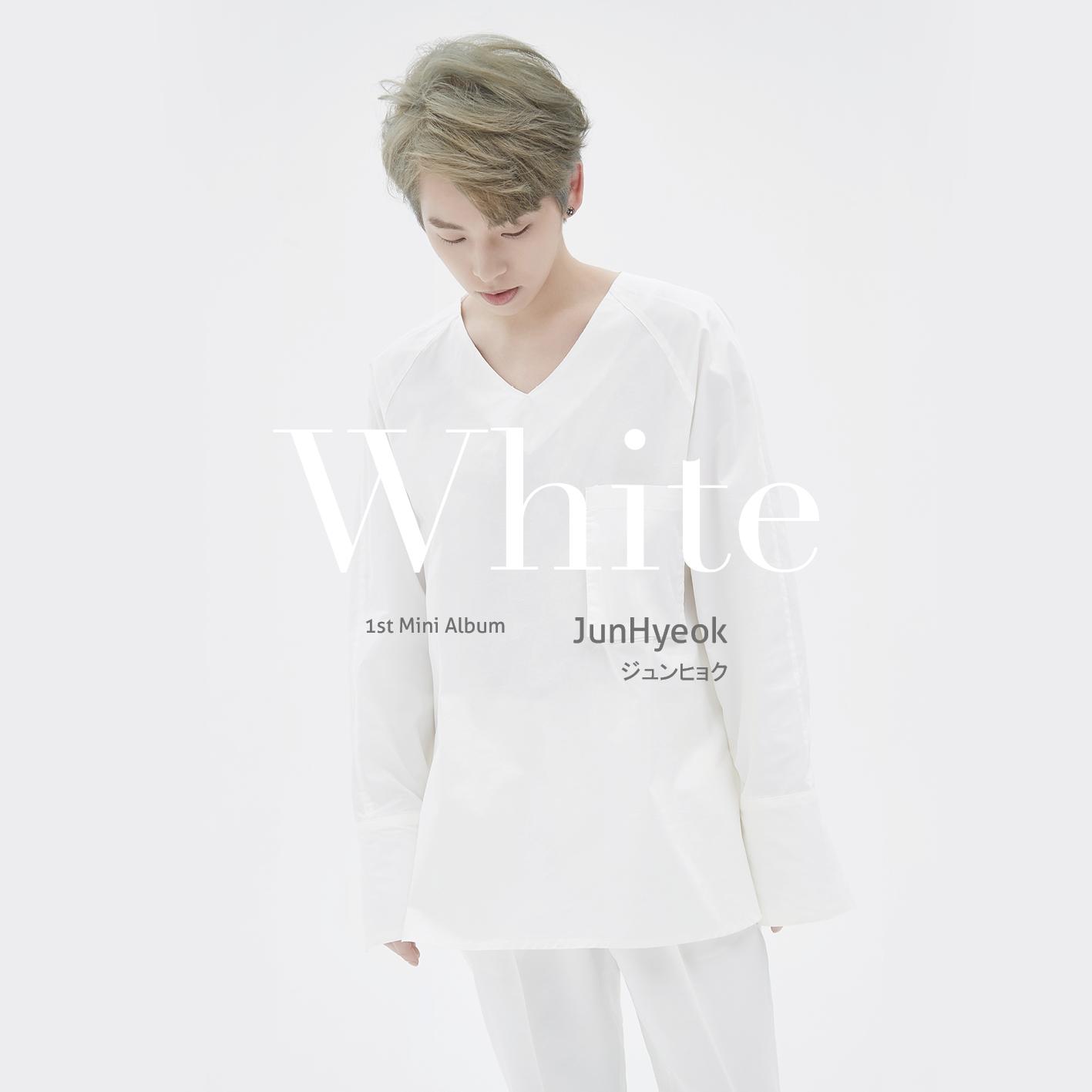 JunHyeok 1st Mini Album 「White」 5/31 発売決定‼